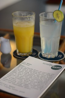 Drinks at HAVEN Restaurant